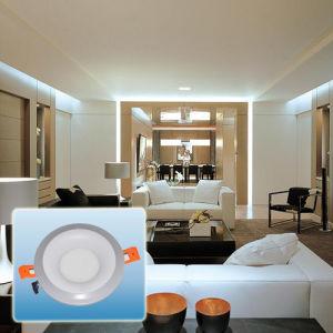 Aluminum Double Color Round LED Panel Light/LED Spotlight pictures & photos