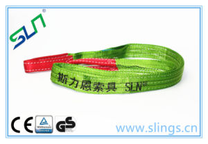 2017 GS Passed 100% Polyester Flat Webbing Sling pictures & photos