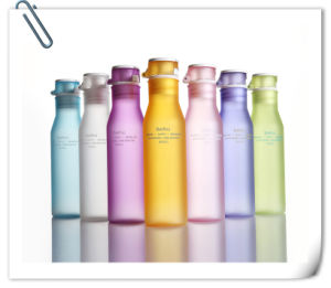 2015 Colorful Plastic Travel&Sport Water Tea Bottle pictures & photos