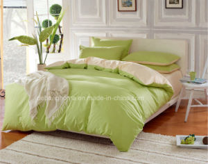 High Quality 100%Cotton Comfortable Pure Color Bedding Set pictures & photos
