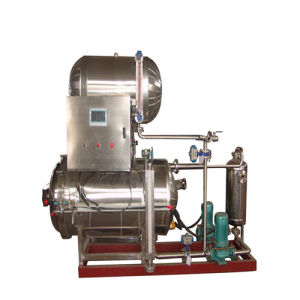 Food Process Machine Automatic Stainless Steel Autoclave Sterilizer pictures & photos