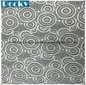 Women Garment Accessories Spandex Lace Geometry Lace Fabric