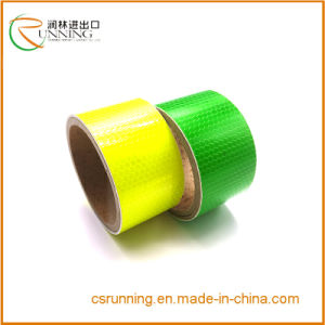 Fluorescence Reflective Safety Warning Tape pictures & photos