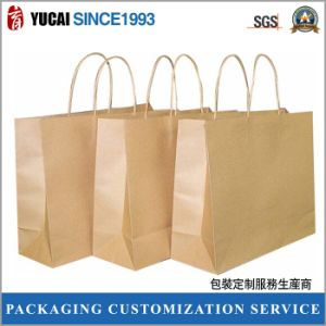 Clothing Packaging 210g Kraft Paper Bag pictures & photos