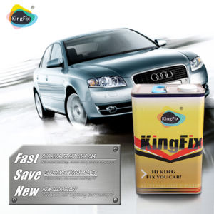 Kingfix Brand Low Viscosity Automobile Clearcoat for Car Painting pictures & photos