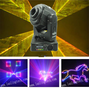 RGB Ilda Animation Logo Disco DJ Stage Moving Head Laser Light pictures & photos