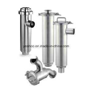 Stainless Steel Filter Sanitary Angle Straight Way Y Type