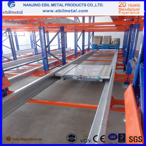 Ebil Metal Selective Adjustable Q235 Steel Radio Shuttle Racking pictures & photos