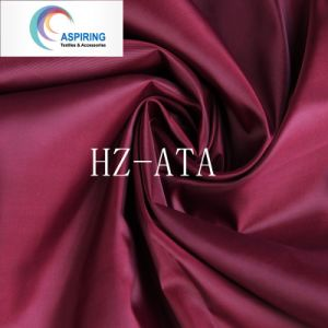 Polyester Woven Lining Fabric/Taffeta Fabric pictures & photos