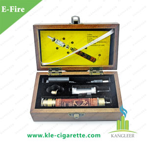 2015 New E Cigarette Variable Voltage E-Fire Wooden Mod, E Fire/X-Fire Starter Kit, Skull Wood Carving E-Cig Efire