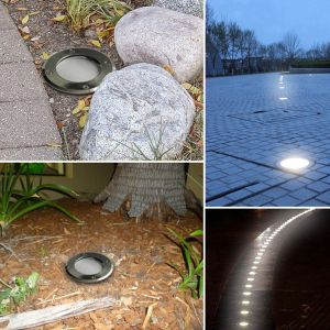 1W Solar LED Waterproof Garden Street Lights (Underground / Buried lighting)