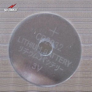 3V Cr2032 Lithium Button Cell Battery pictures & photos