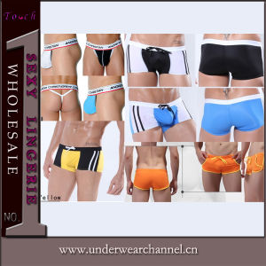 Men Boxers Underpant Thong Underwear Swimming Trunks (TPJ3006) pictures & photos
