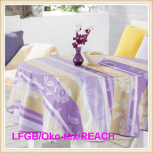 Oilproof Waterproof PVC Printed Table Cloth Factory in Rolls pictures & photos
