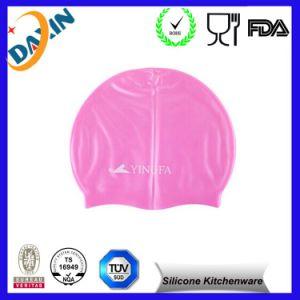 Low MOQ Custom Silicone Swim Waterproof Cap Swimming Cap pictures & photos