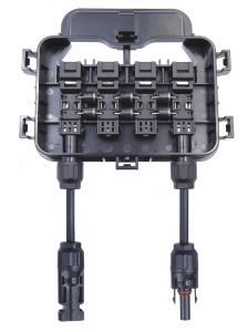 PV-Cy802-Hair-Vent Juction, Big Size Junction Box, Water Proof Junction Box. 4 Rail Junction Box