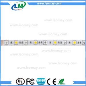 5050 RGB+Warm White Flexible LED Strip with Good Quality pictures & photos