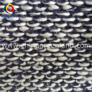 Acrylic Polyester Woolen Yarn Dyed Fabric Knitted for Garment (GLLML139) pictures & photos