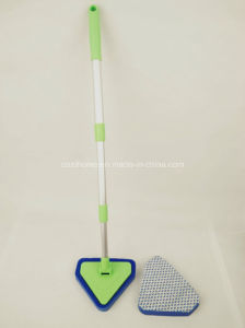 Trangle Sponge Duster with Telescopic Handle in/Outdoor Cleaning Tool pictures & photos
