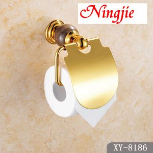 Bathroom Accessories Golden Color Paper Holder (8186) pictures & photos
