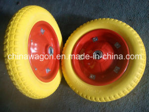 13 Inch Flat Free Tire for Wheelbarrow pictures & photos