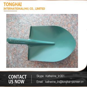 Various Colors Railway Steel Shovel Head for Farm Garden Construction