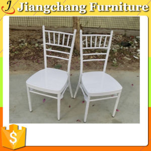 Stacking Wedding Used White Chiavari Chairs (JC -ZJ02)