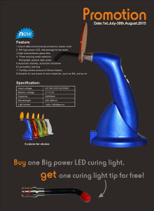 Competitive LED Curing Light (Promotion) pictures & photos
