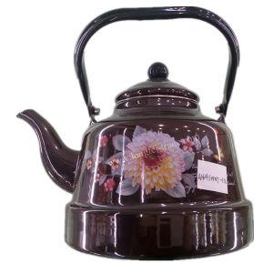 Porcelain Enamel Teapot, Ceramic Enameled Kettle, Carbon Steel Kettle pictures & photos