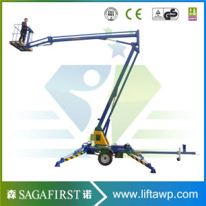 CE ISO Approved Hydraulic Towable Aerial Platforms pictures & photos