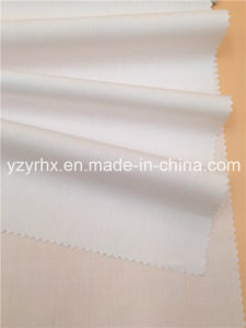 Finished Fabric Poplin Cotton / Polyester Fibre White pictures & photos