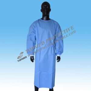 Disposable Medical Gown, Standard Operation Gown, Surgical Gown pictures & photos