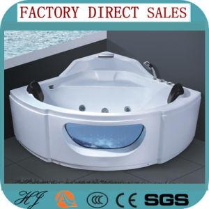 Foshan Ningjie Sanitary Ware Acrylic Jacuzzi Bathtub (5207) pictures & photos