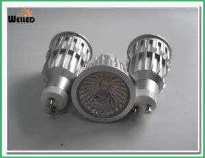 10W Dimmable Version COB LED Spotlight GU10 LED Spot Light with Cold Forging Aluminum 800lm 80ra pictures & photos