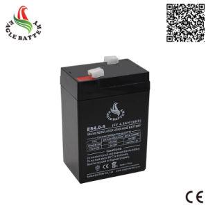 6V 4ah Rechargeable Lead Acid Mf Battery for Emergency Light