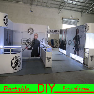 Portable Reusable Self Built Modular Systems with Lightbox Display pictures & photos