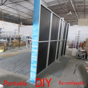 Customized Modular Portable Reusable Fabric Exhibition Booth pictures & photos