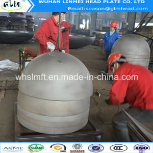 Hemispherical Dish Head with Heat Treatment for Pharmaceutical Industry pictures & photos