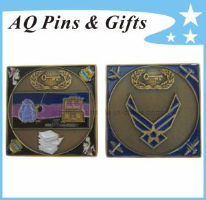 Metal Promotion Coin in Antique Bronze, Challenge Coin pictures & photos