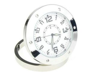 1280*960 Resolution Mini Camera Clock with Video Recording Motion Detection 520round Clock Camera pictures & photos