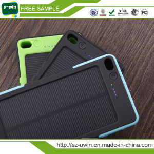 5000mAh Waterproof Solar Power Bank for iPhone6 Smartphone pictures & photos