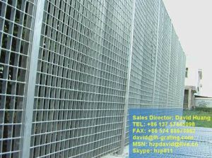 Galvanized Steel Grating Fences for Security Fencing pictures & photos