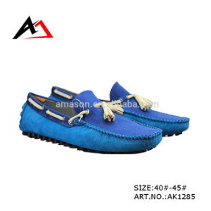 Casual Canvas Shoes Tassels Fashion Wholesale Footwear for Men (AK1285) pictures & photos