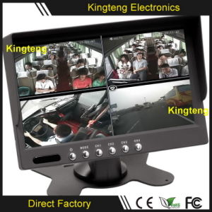 7inch TFT Quad Bus Vehicle Car Parts LCD Monitor