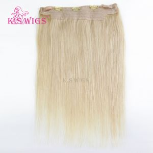 Blonde Color Human Hair Extensoin Remy Human Hair pictures & photos