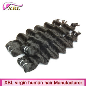No Tangle Virgin Peruvian Wet and Wavy Human Hair pictures & photos