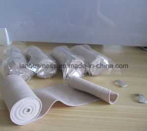 Elastic Bandage in Skin Color for Medical Use pictures & photos