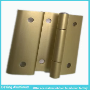 Competitive Aluminum Profile Extrusion Hardware Anodizing in Yellow pictures & photos
