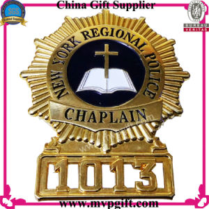 Bespoken Metal Police Badge for Security Badge pictures & photos