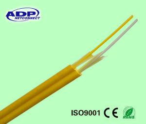 FTTH G657A G652D Singlemode 2 Core Flat Drop Optical Fiber Cable Drop Wire pictures & photos